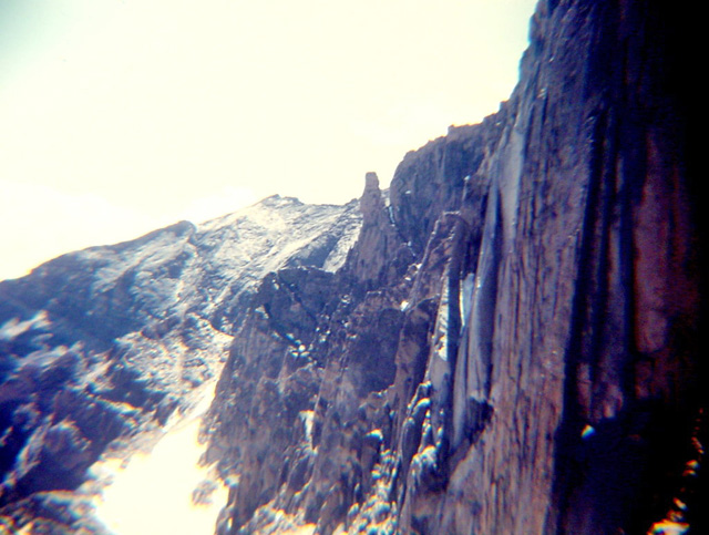 East face with Meeker on left
